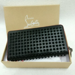 Christian Louboutin(クリスチャンルブタン)のルブタン 財布黒赤ライン レディースのファッション小物