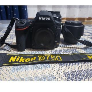 Nikon - Nikon D750 一眼レフ フルサイズ