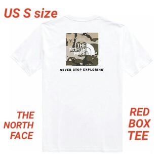THE NORTH FACE - ■海外限定■ノースフェイス レッドボックス Tシャツ ボックスロゴ 白×カモ