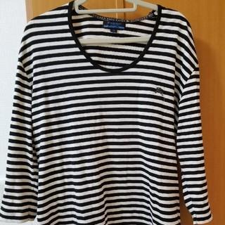 バーバリーブラックレーベル(BURBERRY BLACK LABEL)のBURBERRYブラックレーベル ボーダーシャツ(Tシャツ/カットソー(半袖/袖なし))