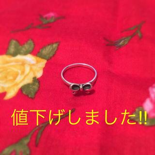 ノジェス(NOJESS)のnojess リボンピンキーリング(リング(指輪))