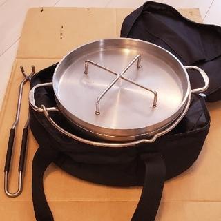 シンフジパートナー(新富士バーナー)のさるの眼鏡様専用 sotoステンレスダッチオーブン10インチリッドリフターケース(調理器具)