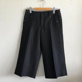UNITED ARROWS - ユナイテッドアローズ ワイドパンツ リネン 麻 パンツ スカート