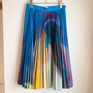 ENFOLD - エンフォルド ENFOLD 流麻仁果コラボプリーツスカート ロングスカート
