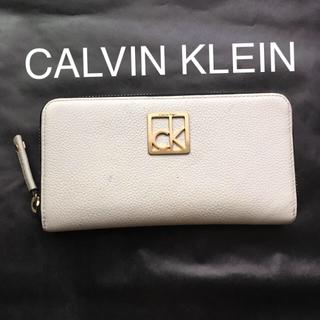 カルバンクライン(Calvin Klein)のカルバンクライン 長財布 中古 (財布)