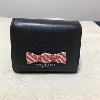 マークジェイコブス(MARC JACOBS)のお値段相談可☆マークジェイコブス 三つ折り財布 レザー 黒(財布)