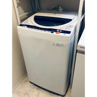 トウシバ(東芝)の【美品】東芝 6kg洗濯機 AW-60GK 風乾燥 パワフル浸透洗浄 12年製 (洗濯機)