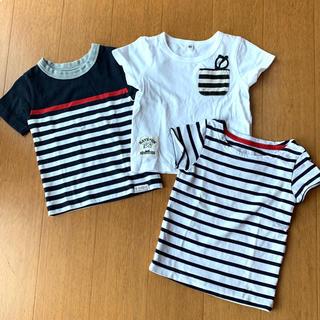 西松屋 - 半袖Tシャツ 3枚セット 80サイズ