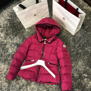 MONCLER - モンクレール 正規品 AUBETTE 12A ボルドー 大人も着用可