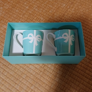Tiffany & Co. - 新品!ティファニー ペアマグカップ