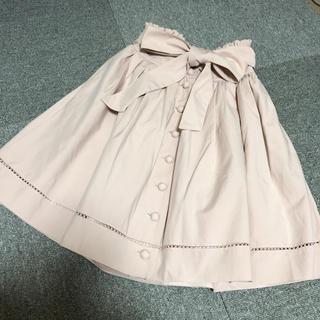レストローズ(L'EST ROSE)のレストローズ フロントボタンスカート(ひざ丈スカート)