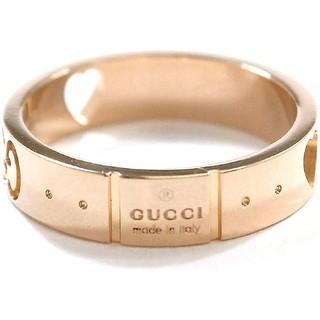 グッチ(Gucci)の【グッチ(GUCCI)】アイコンアモール リング #14(リング(指輪))