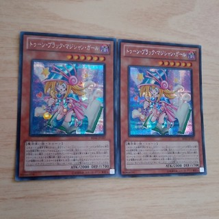 ユウギオウ(遊戯王)のトゥーンブラックマジシャンガール シク2枚 遊戯王(シングルカード)