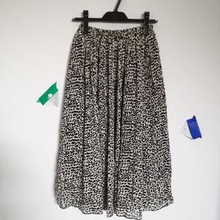 しまむら - しまむら ひょう柄 ロングスカート