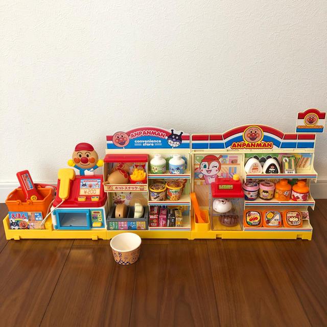 アンパンマン(アンパンマン)のアンパンマンコンビニDX   箱無し、中古品 エンタメ/ホビーのおもちゃ/ぬいぐるみ(キャラクターグッズ)の商品写真