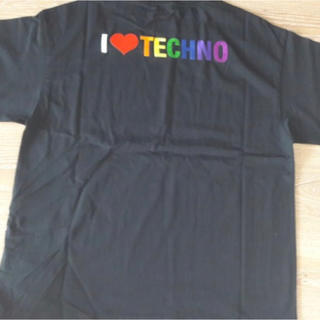 バレンシアガ(Balenciaga)の19ss baleciaga i love techno 刺繍 tシャツ s(Tシャツ/カットソー(半袖/袖なし))