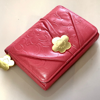 TSUMORI CHISATO - tsumori chisato CARRY  お花の 折り財布