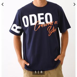 RODEO CROWNS WIDE BOWL - ロデオクラウンズ Tシャツ メンズ用L ネイビー