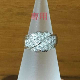 パヴェダイヤモンドリング(リング(指輪))
