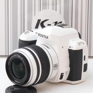PENTAX - 新品 WiFi SD付き ホワイト♪PENTAX★K-r レンズセット