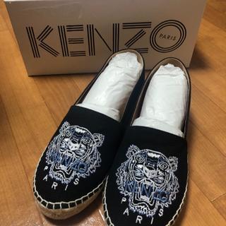 ケンゾー(KENZO)の【新品・未使用】KENZOエスパドリーユ(スリッポン/モカシン)