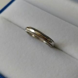 Tiffany & Co. - ティファニー Tiffany& Co. ミルグレインリング 指輪 リング