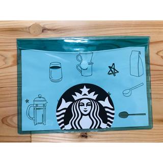 スターバックスコーヒー(Starbucks Coffee)の台湾 スターバックス PVC A5 収納袋(日用品/生活雑貨)