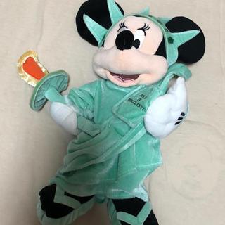 Disney - 自由の女神 ミニー ぬいぐるみ ニューヨーク ディズニーストア