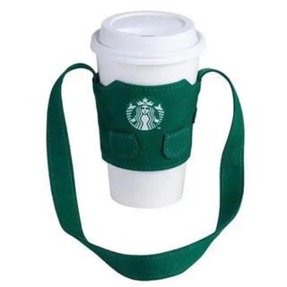 Starbucks Coffee - スターバックス スタバ ドリンクホルダー タンブラーケース エプロン