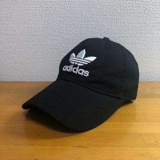 adidas - 新品未使用 adidas キャップ ブラック