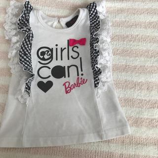 バービー(Barbie)のバービー フリルシャツ 95(Tシャツ/カットソー)