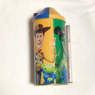 トイ・ストーリー - 香港 ディズニーランド 缶 お菓子 トイストーリー 鉛筆