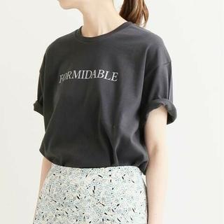 IENA - IENA□ロゴプリントTシャツ