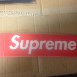 Supreme - シュプリーム  ステッカー 1枚 未使用 supreme boxロゴ インテリア