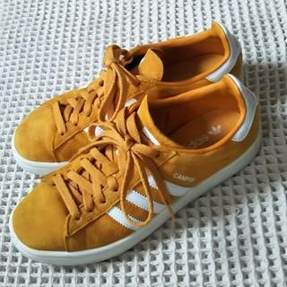 アディダス(adidas)のアディダス★adidas/CAMPUS★オレンジイエロー★US6/24㎝★(スニーカー)