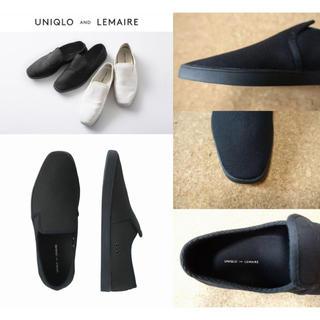 UNIQLO - 新品 レア ユニクロ ルメール キャンバススリッポン 28cm 黒 ブラック