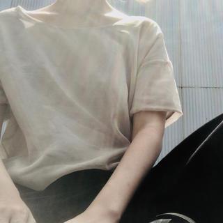 ケービーエフ(KBF)のKBF トップス(カットソー(半袖/袖なし))