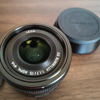 ライカ(LEICA)のエビ様専用 Panasonic  DG SUMMILUX 15mm f1.7(レンズ(単焦点))
