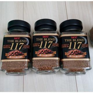 エイージーエフ(AGF)のUCC117x15個クーポンあり インスタントコーヒー ザ ブレンド (コーヒー)