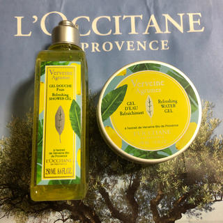 ロクシタン(L'OCCITANE)のロクシタンシトラスヴァーベナセット(ボディローション/ミルク)