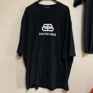 バレンシアガ(Balenciaga)のBalenciaga bb logo t shirt tee(Tシャツ/カットソー(半袖/袖なし))
