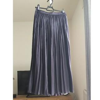 LEPSIM - レプシム サテンプリーツスカート