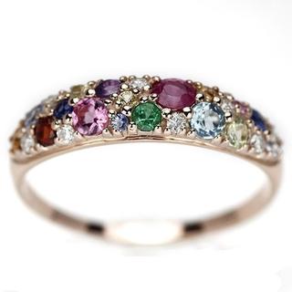 カラフルジェム&ダイヤリング(リング(指輪))