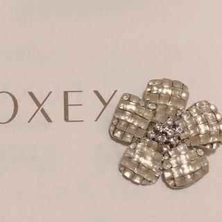 FOXEY - フォクシー ブローチ ホワイト