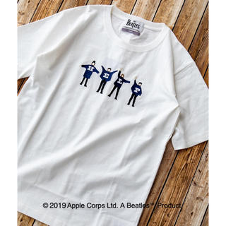 シップス(SHIPS)のSHIPS Beatles コラボtシャツ(Tシャツ/カットソー(半袖/袖なし))