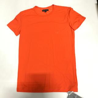 Emporio Armani - 未使用品 アルマーニ メンズTシャツ サイズM オレンジ