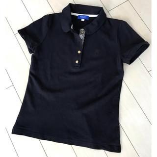 バーバリーブルーレーベル(BURBERRY BLUE LABEL)の専用!BLUE LABEL✨ネイビーポロシャツ❣️美品!(ポロシャツ)