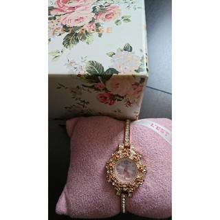 レストローズ(L'EST ROSE)のピンクゴールド腕時計(腕時計)