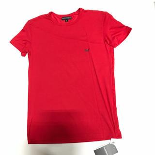 Emporio Armani - 未使用品 アルマーニ メンズTシャツ サイズM レッド