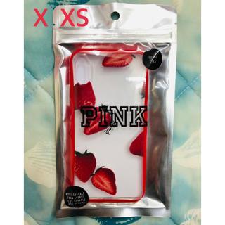 ヴィクトリアズシークレット(Victoria's Secret)のヴィクトリア シークレット  PINK iPhoneケース  X XS(iPhoneケース)